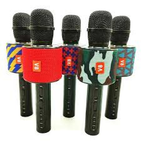 Mikrofon JBL V8 Karaoke sa zvučnikom Bluetooth Red