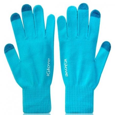 Rukavice iGlove za touchscreen Light Blue