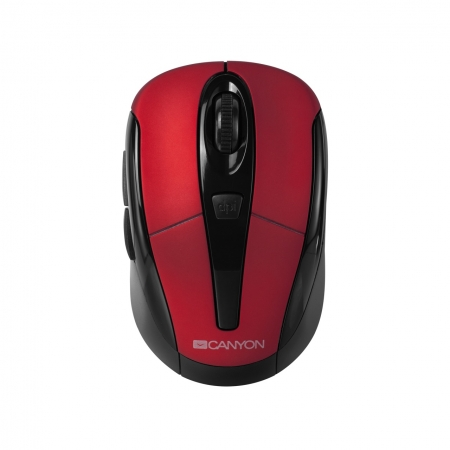 Miš CANYON CNR-MSOW06R Wireless Red